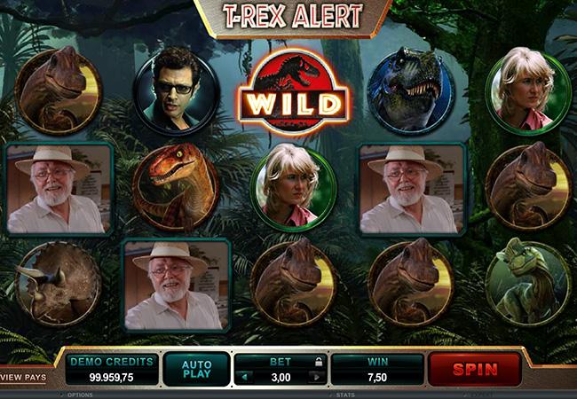 betway casino jurassic park